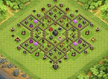 Udhyfx TH 9 Clash of Clans Base Layout