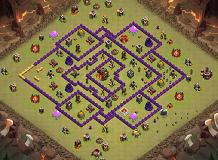 test TH 10 Clash of Clans Base Layout