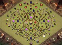anouar TH 11 Clash of Clans Base Layout