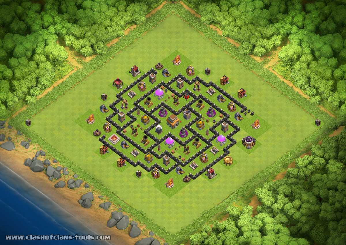Th8 100 Full Service Hard Defence Th8 Hybrid Base By Patrenky