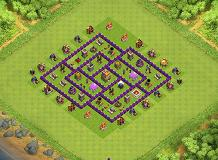 MASTER TH7 TH 7 Clash of Clans Base Layout