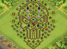TH 10 TH 10 Clash of Clans Base Layout