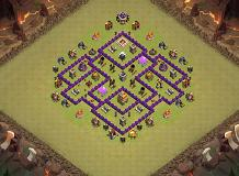 12 TH 7 Clash of Clans Base Layout