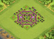 Best Base Th 6 TH 6 Clash of Clans Base Layout