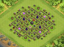tropi TH 9 Clash of Clans Base Layout