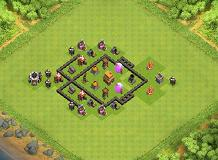 richard TH 4 Clash of Clans Base Layout