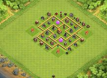 Awesome Base TH 6 Clash of Clans Base Layout