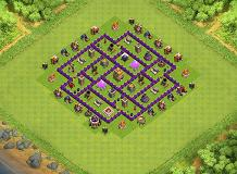 jeburju TH 7 Clash of Clans Base Layout