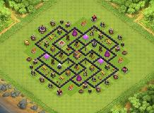 Kuyang TH 8 Clash of Clans Base Layout