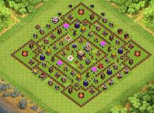 better TH 11 Clash of Clans Base Layout