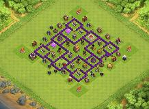 Hitman TH 7 Clash of Clans Base Layout