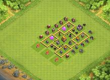 trophy base TH 5 Clash of Clans Base Layout