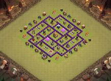 Ggvvc TH 7 Clash of Clans Base Layout