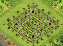 Farm TH 10 Clash of Clans Base Layout