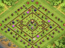 VERSATILE 2016 TH 11 Clash of Clans Base Layout