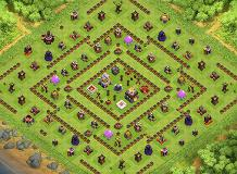 town 11 anti 3 star TH 11 Clash of Clans Base Layout