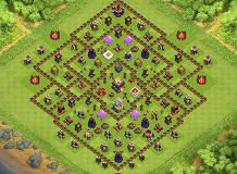 Slayerbeast TH 11 Clash of Clans Base Layout