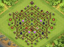 Ultimate TH10 Base TH 10 Clash of Clans Base Layout