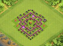 Hbbcg TH 6 Clash of Clans Base Layout