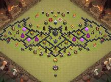 sam TH 9 Clash of Clans Base Layout