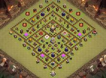 SPARTACUS WAR 11 LVL TH 11 Clash of Clans Base Layout