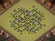 omar TH 8 Clash of Clans Base Layout