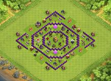 KhanNH TH 7 Clash of Clans Base Layout
