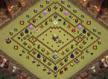 th11 finished TH 11 Clash of Clans Base Layout