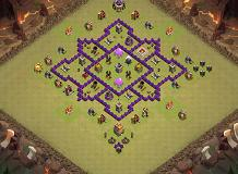 Sultan TH 7 Clash of Clans Base Layout