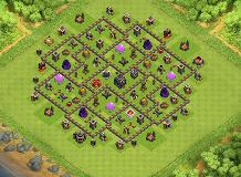 TH9 Farming TH 9 Clash of Clans Base Layout