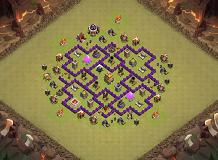coc TH 7 Clash of Clans Base Layout