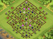 Douglas 22 TH 11 Clash of Clans Base Layout