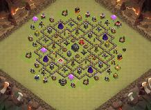X1 TH 9 Clash of Clans Base Layout