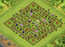 Farming TH 11 Clash of Clans Base Layout