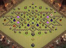 xmen TH 9 Clash of Clans Base Layout