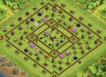 th11 TH 11 Clash of Clans Base Layout