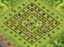 gustri's base TH 11 Clash of Clans Base Layout