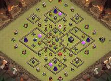 TH9.27 - La Catedral TH 9 Clash of Clans Base Layout