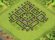 amirshah TH 8 Clash of Clans Base Layout