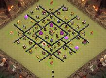hd TH 8 Clash of Clans Base Layout