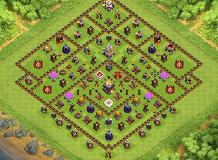 pro layout TH 11 Clash of Clans Base Layout