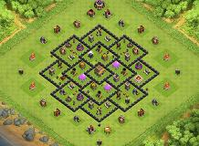 partha TH 8 Clash of Clans Base Layout