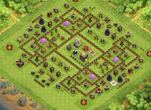 giveaways TH 11 Clash of Clans Base Layout