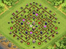 Farming Is Forever TH 11 Clash of Clans Base Layout