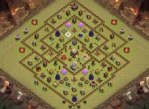Ghghf TH 11 Clash of Clans Base Layout