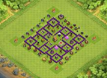 . TH 7 Clash of Clans Base Layout