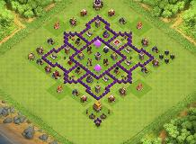 Coc Th 6 Defence Base Layout 7
