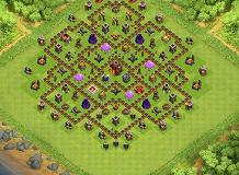 Nhoelle TH 10 Clash of Clans Base Layout