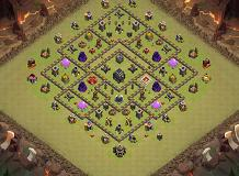 chris TH 9 Clash of Clans Base Layout