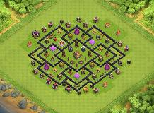 raif TH 8 Clash of Clans Base Layout